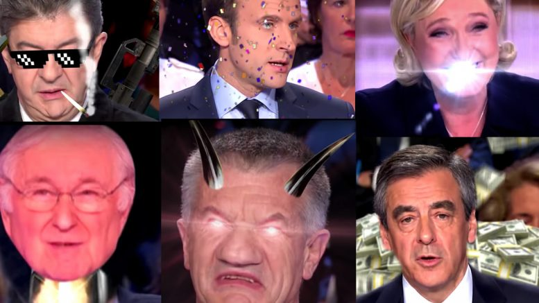 election drogue manipulation presidentielles macron medias, merdias