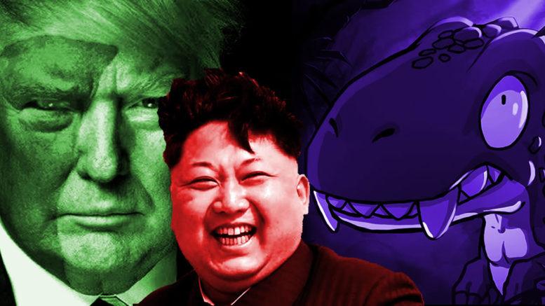 Raptor dissident Kim jong un Trump
