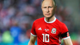 putin football playing soccer