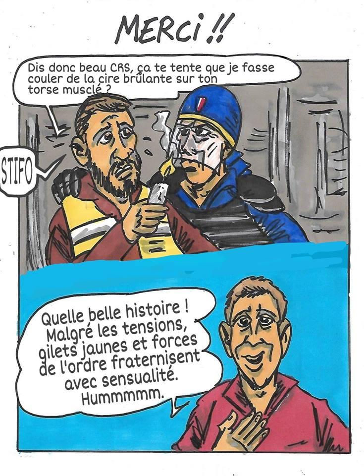 Duf dessinateur Gilets Jaunes