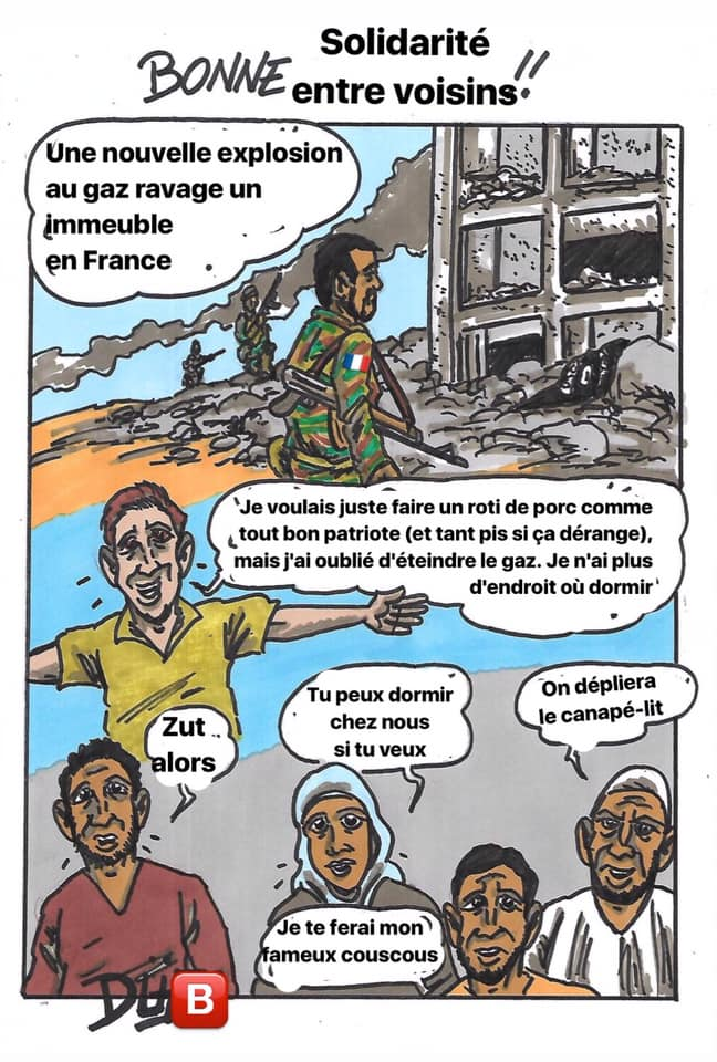 Duf dessinateur musulman islamo gauchiste SJW