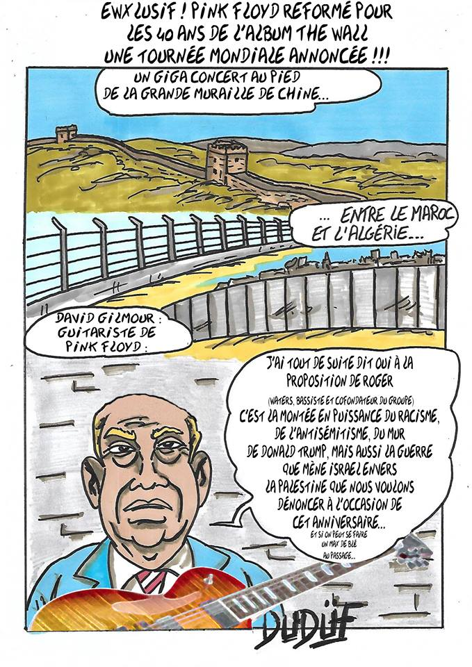 Duf dessinateur immigration mur trump