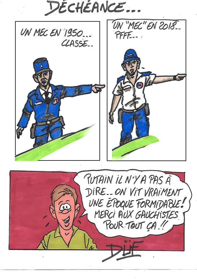 Duf dessinateur France Mec